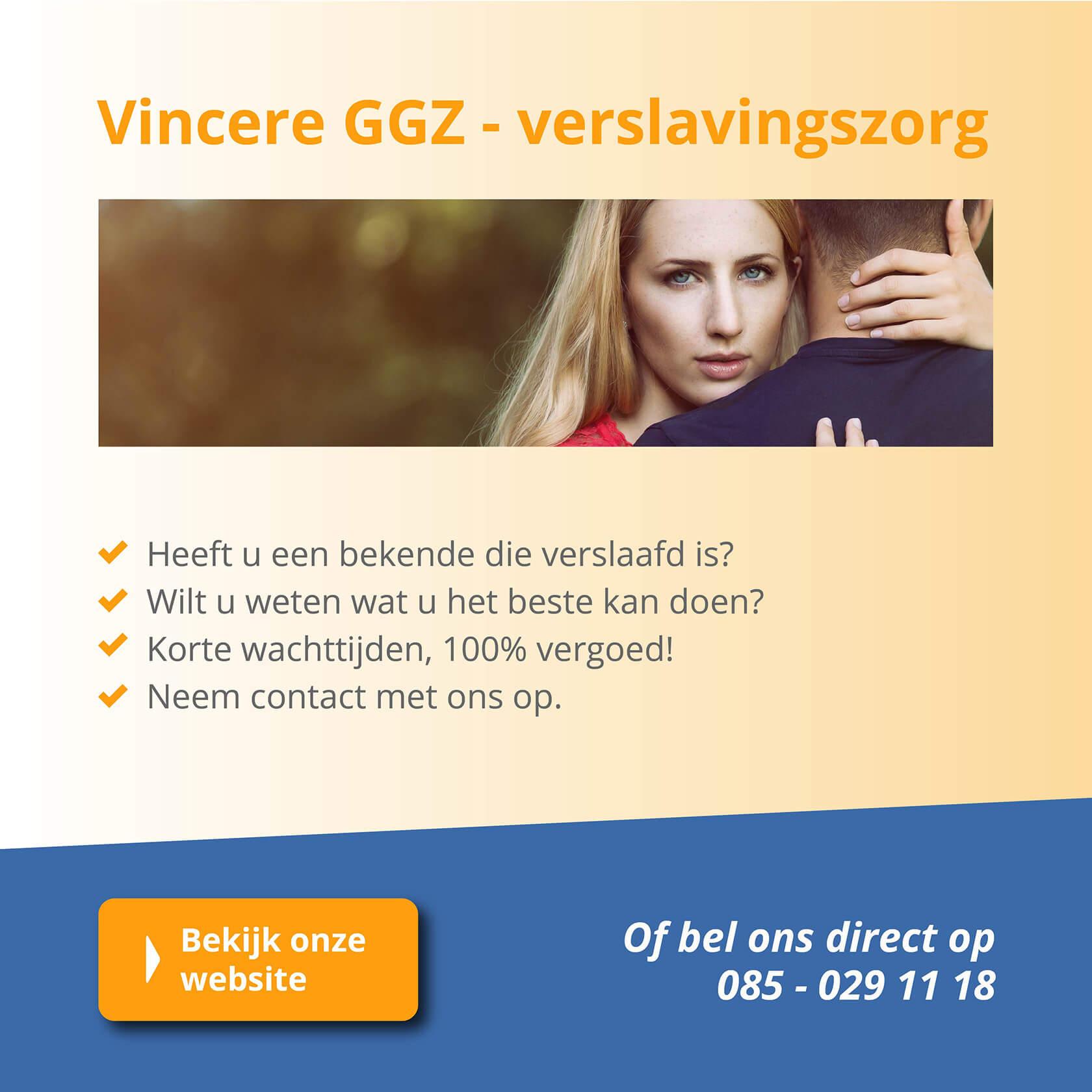 Vincere - verslavingskliniek met locaties in binnen- en buitenland.