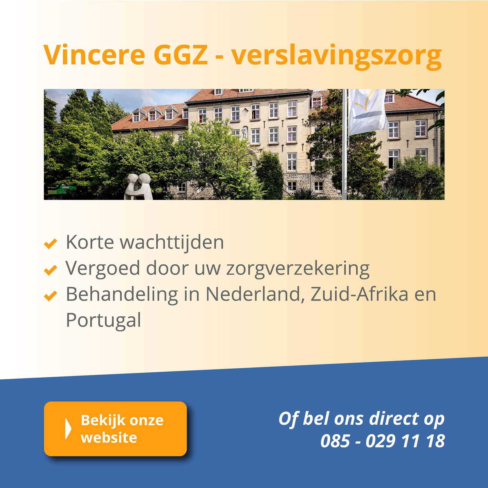 Vincere heeft overal klinieken. In Nederland en Buitenland.