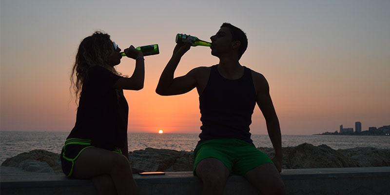 De gevaren van binge drinken