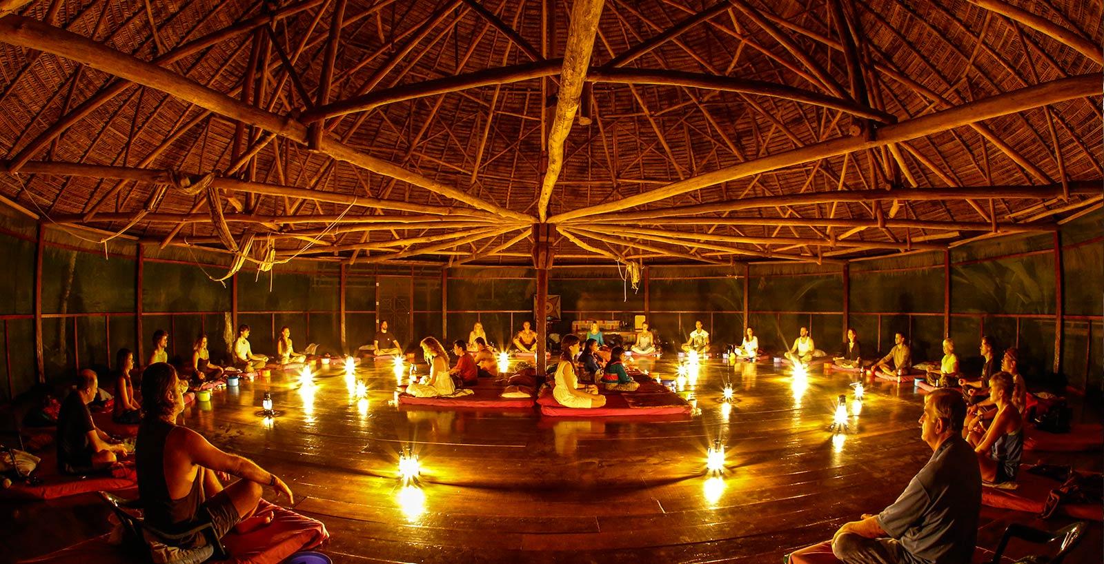 Ayahuasca ceremonie DMT trip